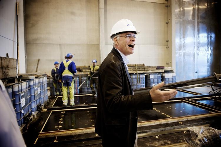 Astor Nyborg, betong-pioneer. (Foto: Kristian Jacobsen)