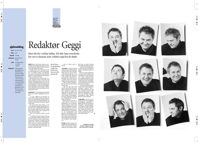 Redaktør i Tv-Vest, Geir Arne Selvær (Stavanger Aftenblad/Pluss) (Foto: Kristian Jacobsen)
