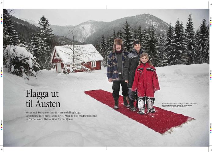 Ledaal Teppeveveri flytter deler av produksjonen til Gjøvdal i Aust-Agder (Stavanger Aftenblad/Pluss) (Foto: Kristian Jacobsen)