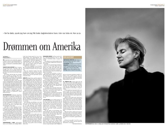 Siri Hustvedt, forfatter (God Helg/Stavanger Aftenblad) (Foto: Kristian Jacobsen)