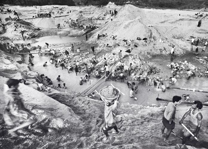 Steinbrudd utenfor Jafflong, Bangladesh. (Foto: Kristian Jacobsen)