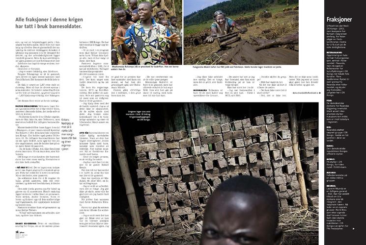 Sak om tidligere barnesoldater i DR Kongo (Pluss/Stavanger Aftenblad) (Foto: Kristian Jacobsen)