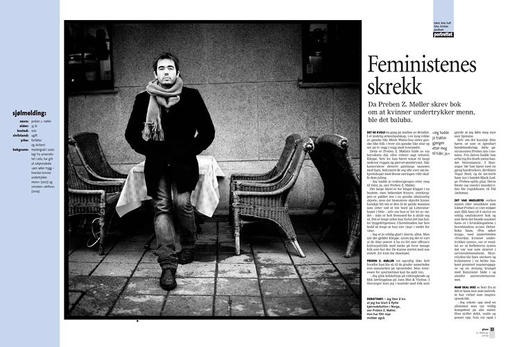 Preben Z. Møller, forfatter (Pluss/Stavanger Aftenblad) (Foto: Kristian Jacobsen)