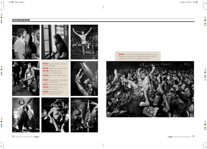 Sak fra konsert med Kvelertak og Purified in Blood på Rockefeller. (Pluss/Stavanger Aftenblad) (Foto: Kristian Jacobsen)
