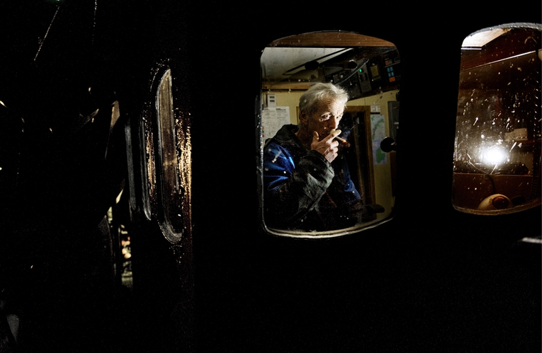 Sildefiske i Yrkjesfjorden (Stavanger Aftenblad/Pluss) (Foto: Kristian Jacobsen)