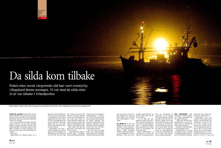 Sildefiske (Pluss/Stavanger Aftenblad) (Foto: Kristian Jacobsen)