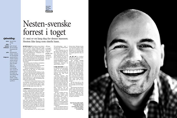 Dag Terje Klarp Solvang (Pluss/Stavanger Aftenblad) (Foto: Kristian Jacobsen)