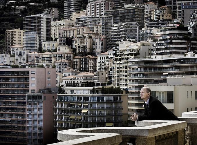 Ståle Kyllingstad i Monaco. (Foto: Kristian Jacobsen)