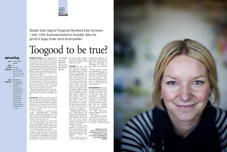 Ingrid Toogood Hovland, kunstner (Pluss/Stavanger Aftenblad) (Foto: Kristian Jacobsen)